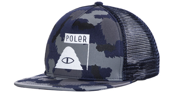 POLER Summit Mesh Trucker - Couvre-chef - marron